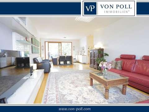 moderne penthouse wohnung, moderne penthouse-wohnung mit großer terrasse und skylineblick, Design ideen