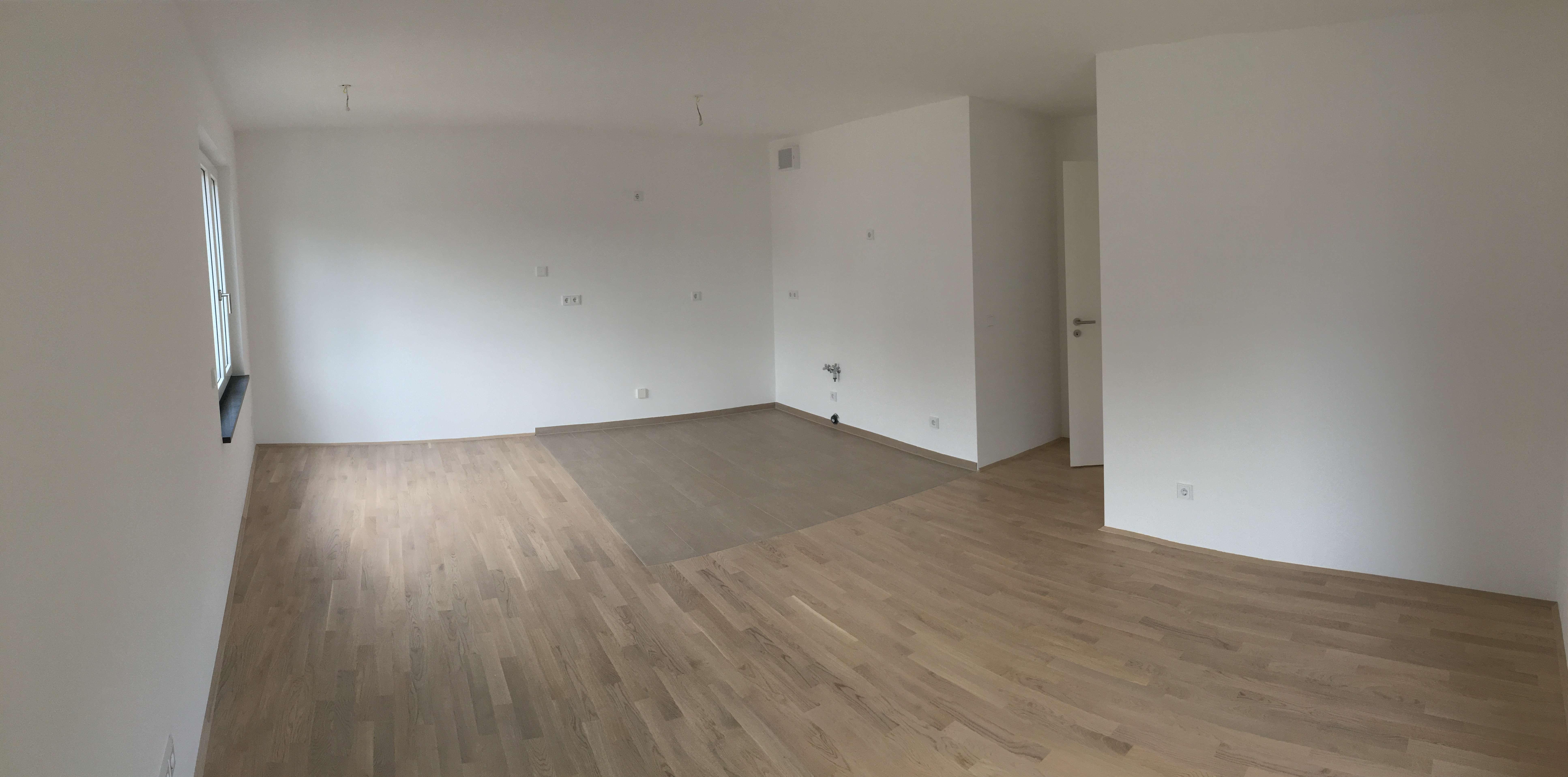 Erstbezug: schöne 4-Zimmer-Wohnung mit Balkon in Aubing, München