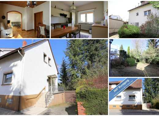 Kleines Einfamilienhaus  - mit schönem Garten und Garage