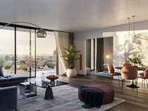 Blick über Frankfurt Premium 2-Zimmer-Wohnung