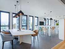 Arbeiten in der Business Lounge -