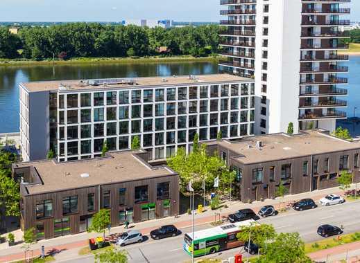 87,40 qm Büroloft im Erdgeschoss in der *Großen Kiste*, Überseestadt