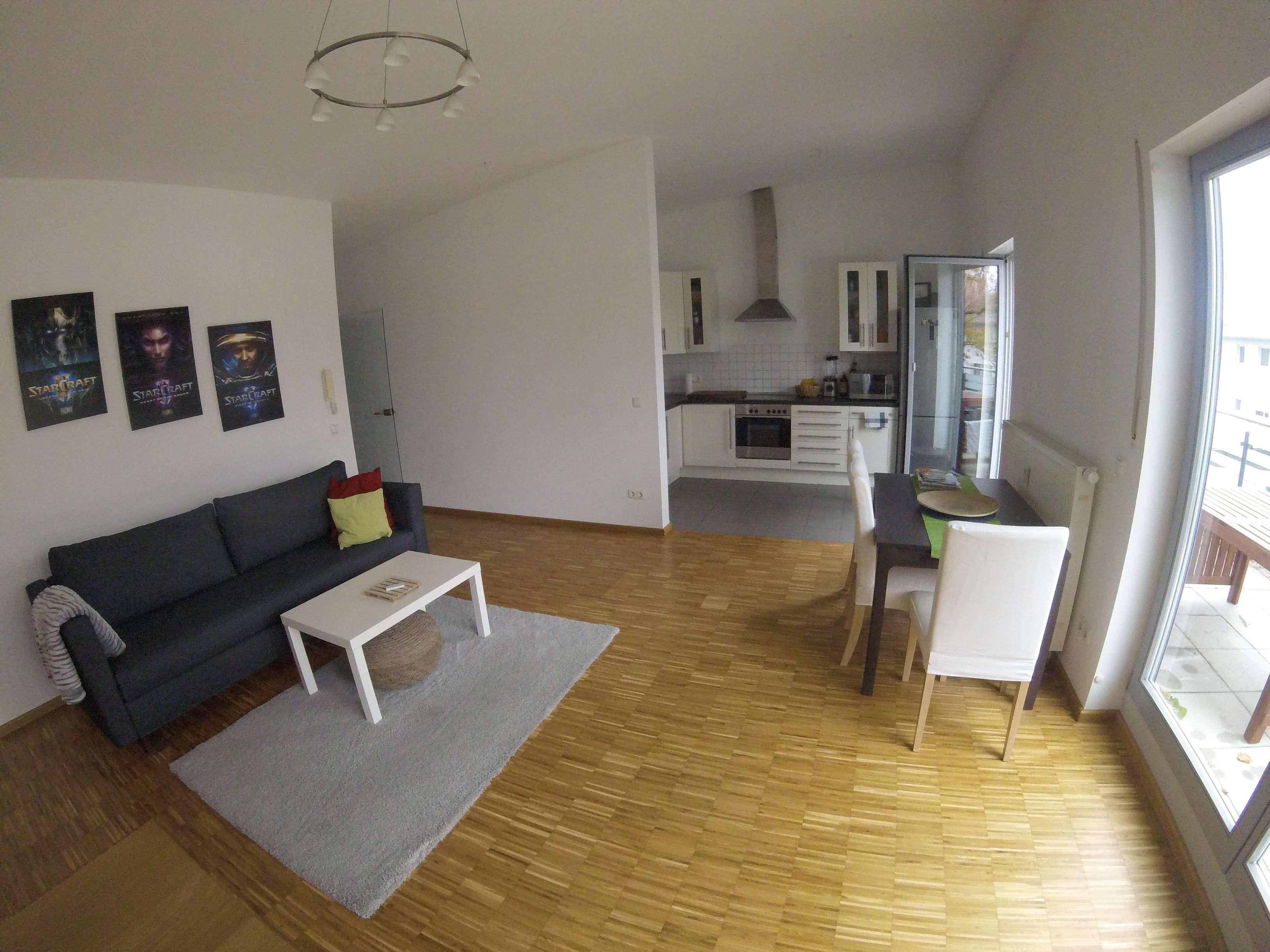 Tolle Zweizimmer Dachterrassenwohnung in zentraler u. ruhiger Lage v. Freising in Freising