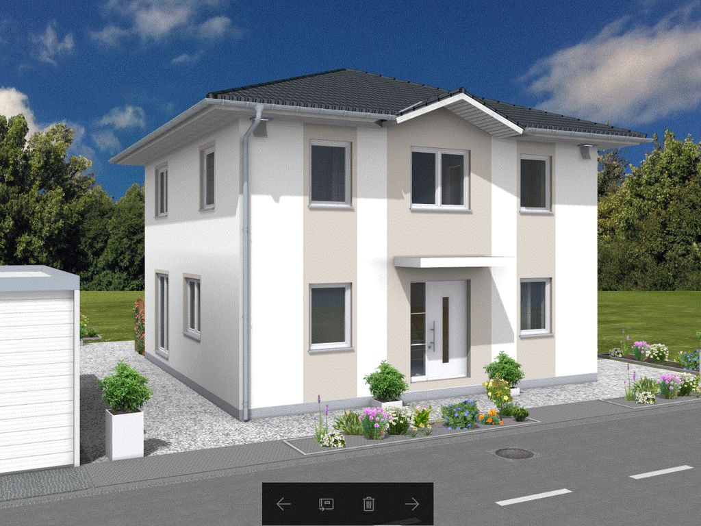 Stadtvilla biesdorf kostenlose grundriss und for Stadtvilla mit doppelgarage grundriss