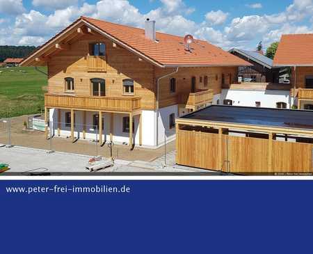 Raus auf´s Land - 4 Zimmer  Maisonette Wohnung  mit  Balkon zum Erstbezug mit Blick in´s Grüne in Dietramszell