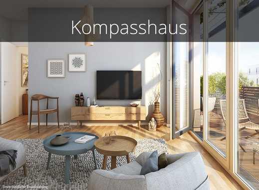Perfektes Wohnklima. Helle 4-Zimmer-Wohnung mit schönem Balkon in familienfreundlicher Lage