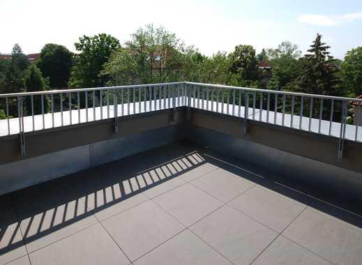 * Penthouse mit sonniger Dachterrasse über den Dächern von Striesen  *