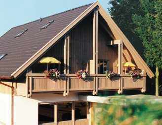 Schöne sonnige 3 Zimmer Maisonette-Wohnung mit Südbalkon & Arbeitszimmer in Bad Birnbach in Bad Birnbach