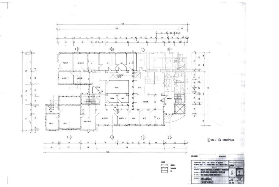 Erdgeschoss Bauantrag