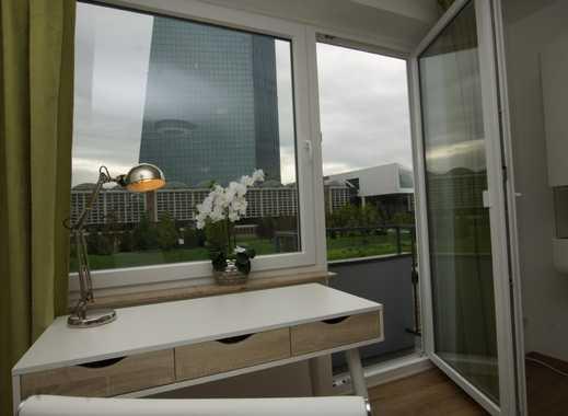 Chic möbliert vis-a-vis EZB Turm der European Central Bank