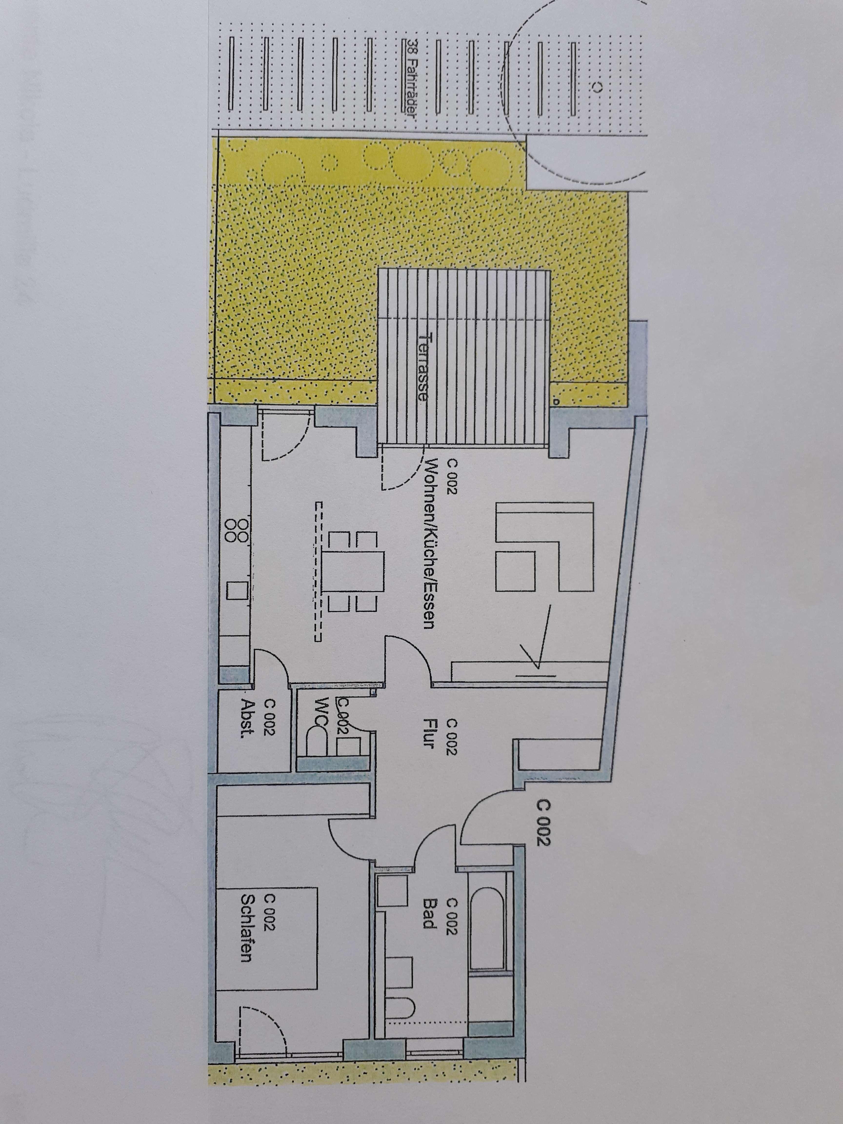 Großzügige 2-Zi-Whg-mit Terrasse und Grünfläche-   Neubau Wohnambiente Nikola in Nikola