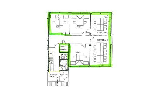 Grundriss mit Umbau-Vorschlag