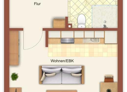 Altengerechte 2-Zi-ETW im EG als kleine Kapitalanlage sowie auch später zur eigenen Nutzung denkbar