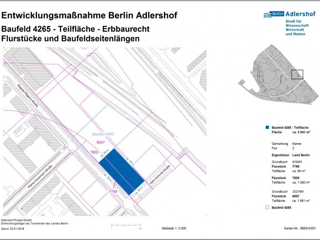 erbbaurecht gewerbegebiet in berlin adlershof wagner. Black Bedroom Furniture Sets. Home Design Ideas