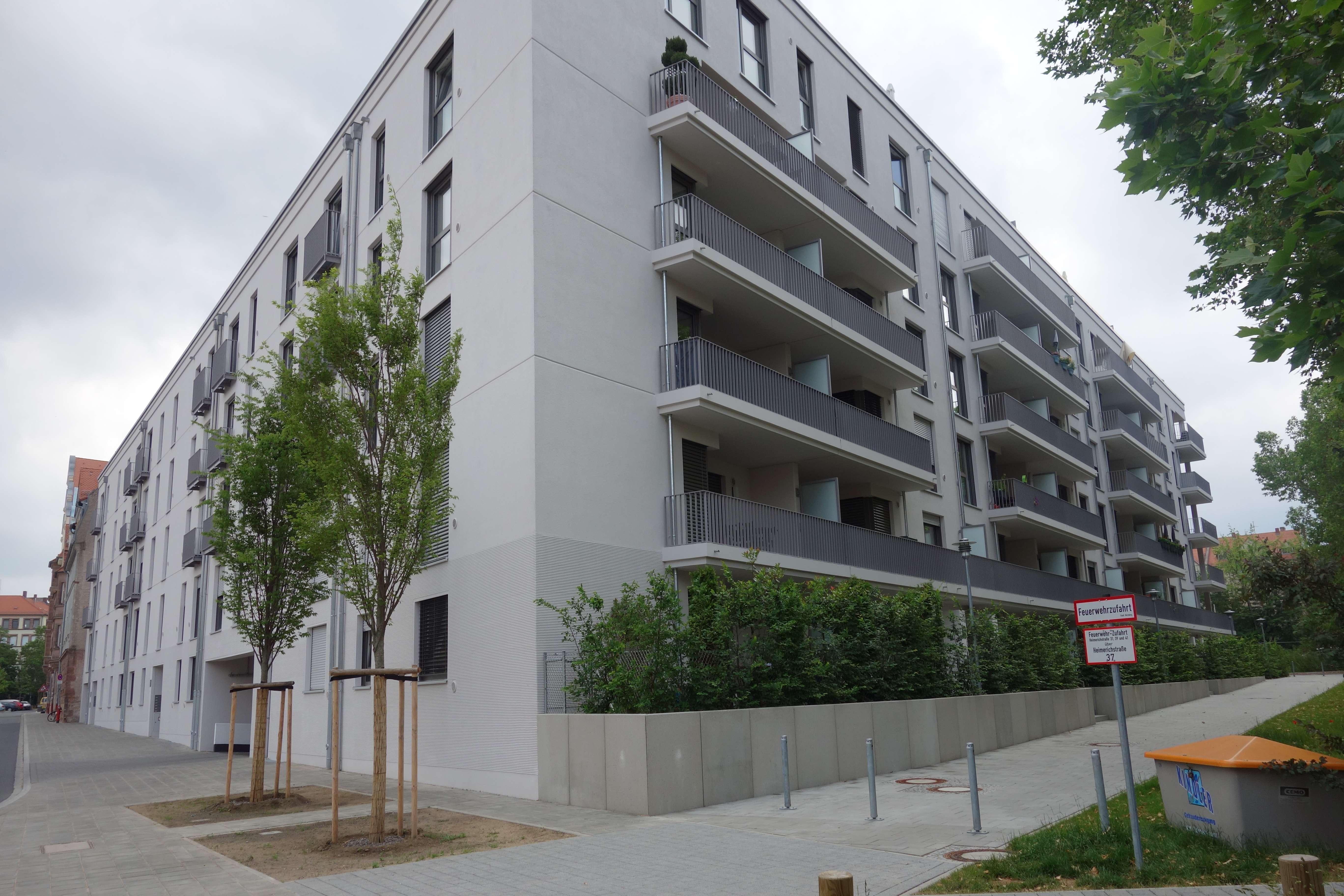 Helle Penthouse-Wohnung mit Dachterrasse in Nürnberg - St. Johannis in Bielingplatz (Nürnberg)