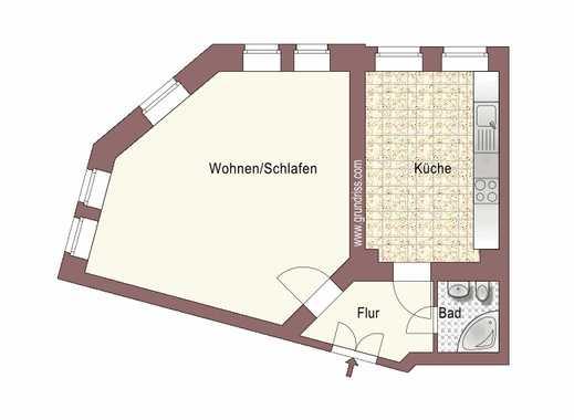 Einbauküche + Erdgeschoss + ruhige Seitenstraße