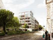 Bild Großzügiges Dachgeschoss mit Dachterrasse nahe Alexanderplatz - Baugemeinschaftsprojekt MAGAZIN17