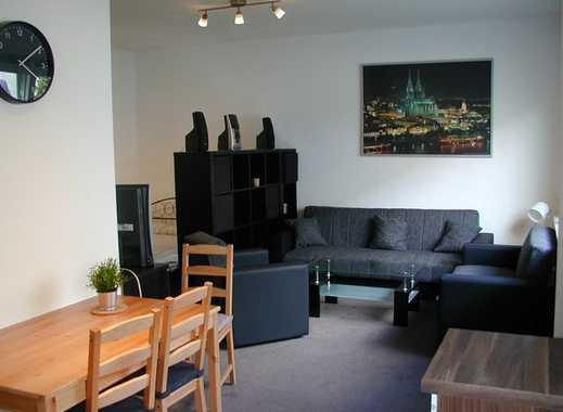 Modernes komplett möbliertes Appartement mit Gartennutzung in Köln Ehrenfeld