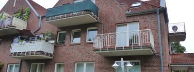 Gepflegte, helle 3-Zimmer-Wohnung mit Balkon u. toller Aussicht in Minden