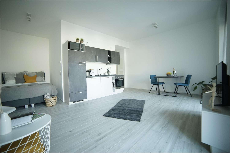 NEUBAU BOARDING HOUSES - TERRASSE 1 Zimmer -voll ausgestattet- PRIME PARK *Tagespreis Euro 89,-€* in