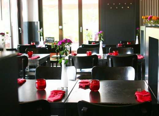 Mediterranes Restaurant mit großer Gartenterrasse und Pächterwohnung
