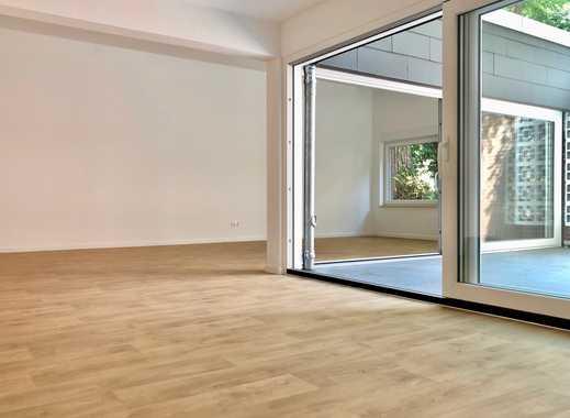 Kernsaniertes Atrium-Appartment im Bungalowstil / neue Einbauküche