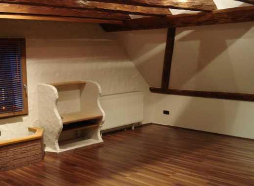 Dachwohnung, rustikal-modern, inkl. Einbauküche