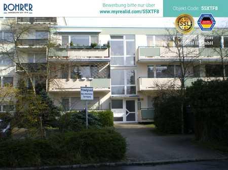 Ismaning -  1-Zimmerwohnung, Küche mit Einbauküche, Flur, Bad/WC, Balkon, Kellerabteil in Ismaning