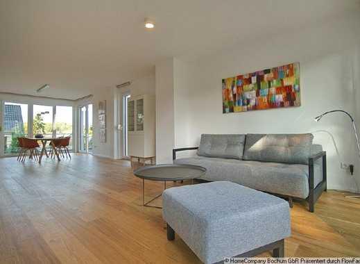 Attraktive Doppelhaushälfte, neu möbliert (Erstbezug), 3 Schlafzimmer, Terrasse, 2 Stellplätze, s...
