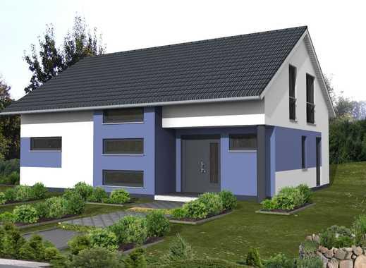 *Klare Linien mit einem interessanten Grundriss*KfW 55 Haus!