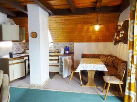 Voll möblierte 3-Zimmer-Wohnung an Einzelperson zu vermieten in Bad Wörishofen