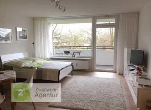 Stilvoll möbliertes Apartment mit WLAN und Balkon,  Ratingen-Ost, Am Ostbahnhof