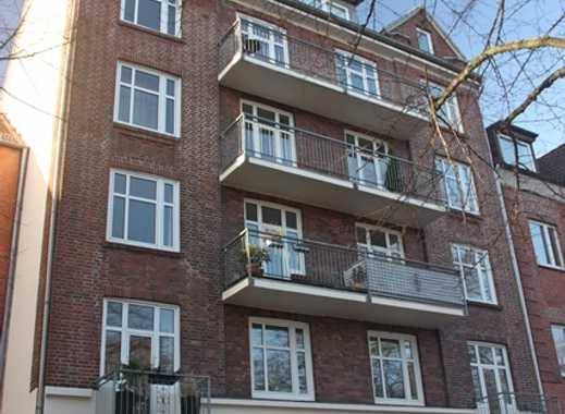 Vermietete 3 Zimmer Eigentumswohnung mit Balkon in Uhlenhorst