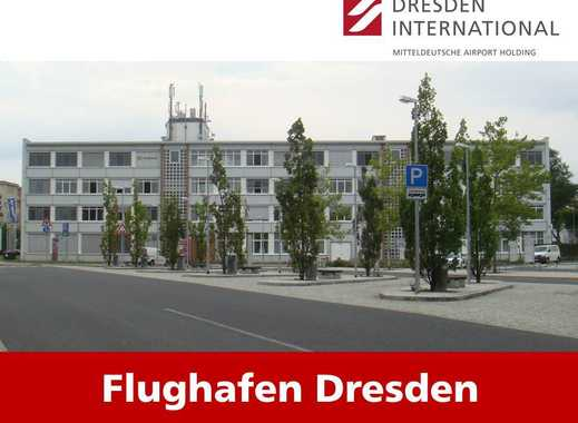 Büroflächen im Frachtgebäude am Flughafen Dresden