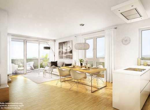 Moderne 2 zimmer neubauwohnung mit balkon und fußbodenheizung