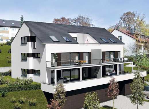 Helle 3 Zimmer Wohnung mit Gartenterrasse und Gartenanteil