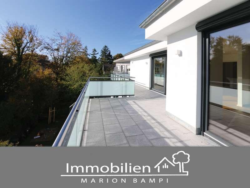 Exklusive Penthouse-Wohnung mit umlaufender Dachterrasse! in Solln (München)