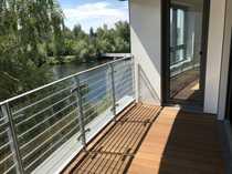 Top-Neubau-Erstbezug direkt am Wasser mit Blick auf die Havel, Balkon, Parkett, Aufzüge