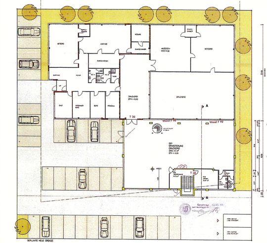 039-23 Grundriss EG - Bauantra