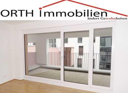 Modern und Zentrumsnah - 3 Zimmer Neubau mit EBK, Fußbodenhzg. u. Sonnenterrasse