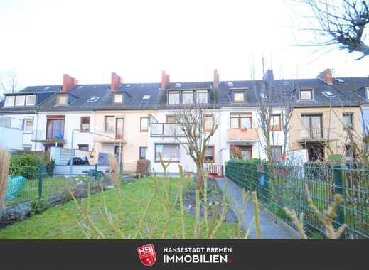 Kapitalanlage: Walle / Reihenhaus mit 180 m² Wohn-/ Nutzfläche gegenüber der Überseestadt