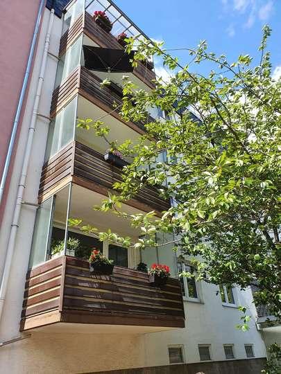 Tolle 1-Zimmer Wohnung mit Balkon in der List