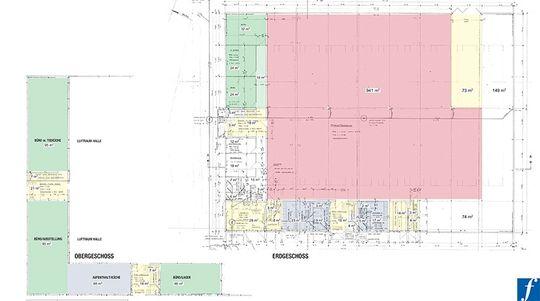 Planvorschau Produktion Büro S
