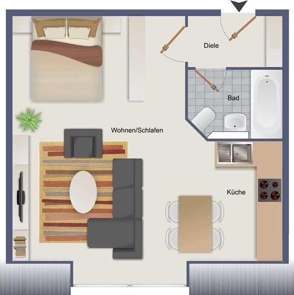Sonniges Appartement mit Mehrwert