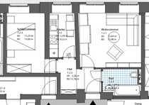gemütliche 2-Raum Wohnung im Herzen