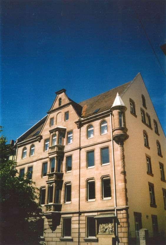 Exklusive, geräumige und neuwertige 1-Zimmer-Wohnung mit Einbauküche in Nürnberg in St. Johannis (Nürnberg)