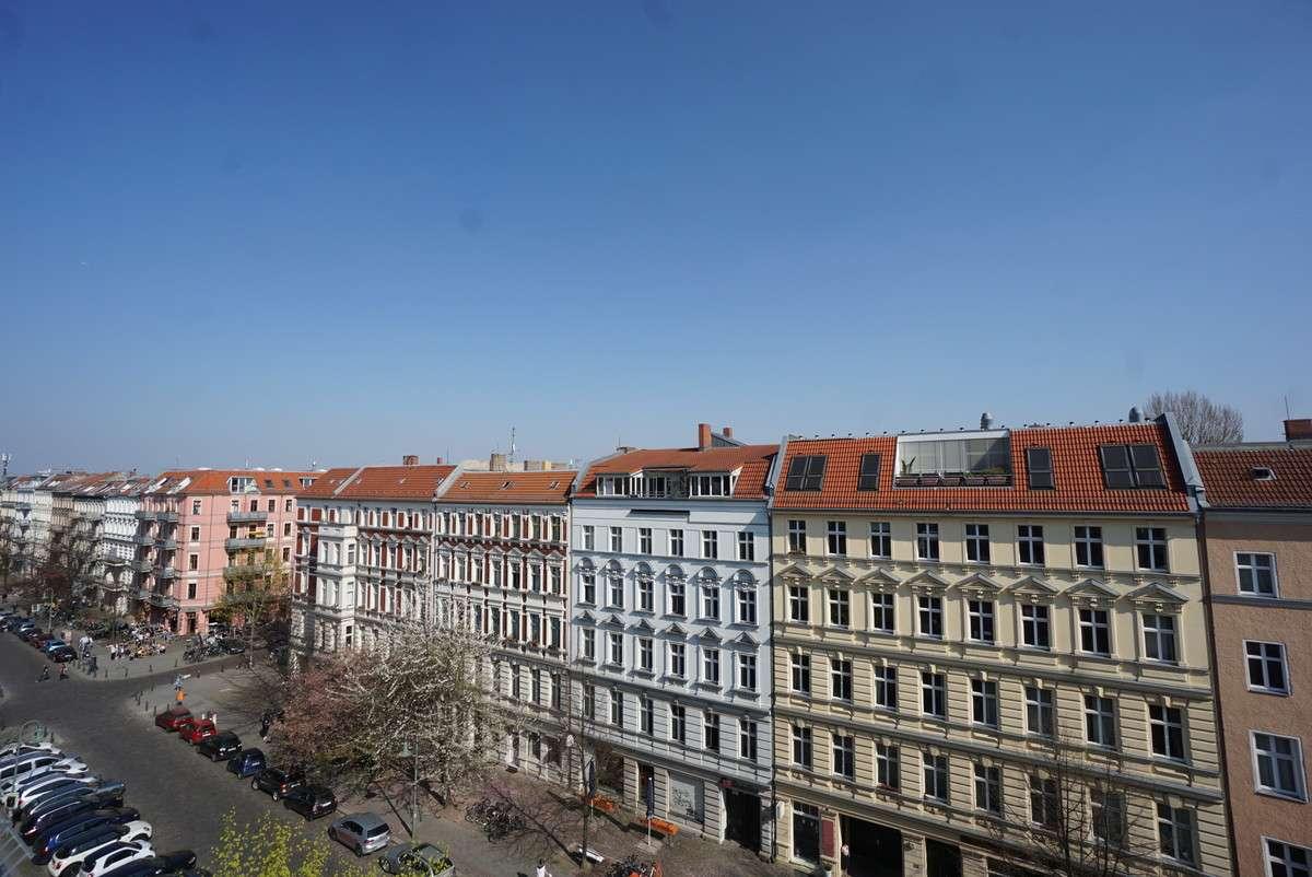 Nördlicher Blick Dachterrasse