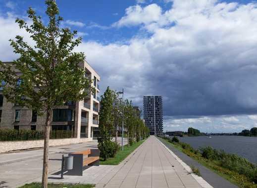 Wohnen an der Weser - schicke 4 Zi. Terrassenwohnung im Magellan Quartier Überseestadt