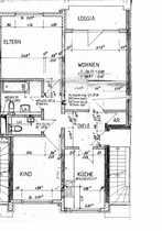 3 Zimmerwohnung mit Westbalkon und