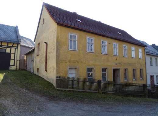 Reihenendhaus im Zentrum von Berga/Elster